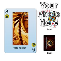 Deck Of Cards For The Cp Community By Brent   Playing Cards 54 Designs   Qjg75oli918h   Www Artscow Com Front - Spade8