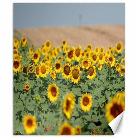 Sunflowers By Laicie Langston   Canvas 8  X 10    5azc3hchmdqa   Www Artscow Com Canvas