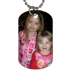 Gtgtgh By Denise Matheny   Dog Tag (two Sides)   Da0fezfdfhjs   Www Artscow Com Front
