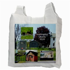 New England/huntingdon Bag By Terri   Recycle Bag (two Side)   Dt3mh9og4foz   Www Artscow Com Back