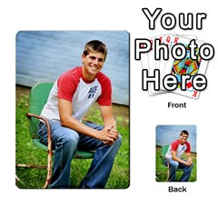 Senior Graduation Wallet Photos By Mary Landwehr   Multi Purpose Cards (rectangle)   Iy3lm9ckklwt   Www Artscow Com Front 1
