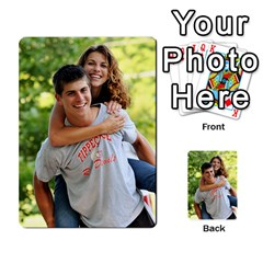 Senior Graduation Wallet Photos By Mary Landwehr   Multi Purpose Cards (rectangle)   Iy3lm9ckklwt   Www Artscow Com Back 54