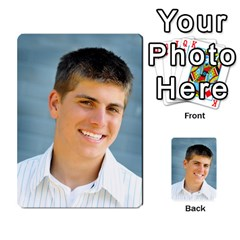 Senior Graduation Wallet Photos By Mary Landwehr   Multi Purpose Cards (rectangle)   Iy3lm9ckklwt   Www Artscow Com Front 12