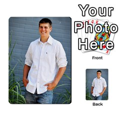 Senior Graduation Wallet Photos By Mary Landwehr   Multi Purpose Cards (rectangle)   Iy3lm9ckklwt   Www Artscow Com Back 12