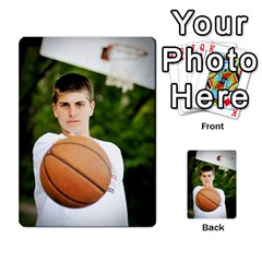 Senior Graduation Wallet Photos By Mary Landwehr   Multi Purpose Cards (rectangle)   Iy3lm9ckklwt   Www Artscow Com Back 17