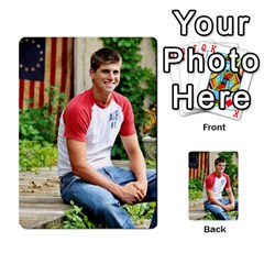 Senior Graduation Wallet Photos By Mary Landwehr   Multi Purpose Cards (rectangle)   Iy3lm9ckklwt   Www Artscow Com Back 20