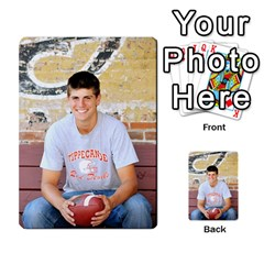 Senior Graduation Wallet Photos By Mary Landwehr   Multi Purpose Cards (rectangle)   Iy3lm9ckklwt   Www Artscow Com Back 21