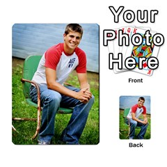 Senior Graduation Wallet Photos By Mary Landwehr   Multi Purpose Cards (rectangle)   Iy3lm9ckklwt   Www Artscow Com Front 22