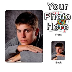 Senior Graduation Wallet Photos By Mary Landwehr   Multi Purpose Cards (rectangle)   Iy3lm9ckklwt   Www Artscow Com Back 24