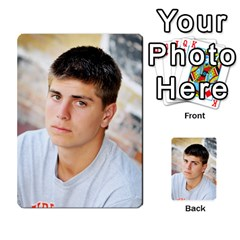 Senior Graduation Wallet Photos By Mary Landwehr   Multi Purpose Cards (rectangle)   Iy3lm9ckklwt   Www Artscow Com Back 31
