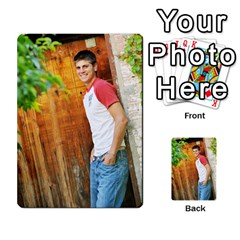 Senior Graduation Wallet Photos By Mary Landwehr   Multi Purpose Cards (rectangle)   Iy3lm9ckklwt   Www Artscow Com Back 34