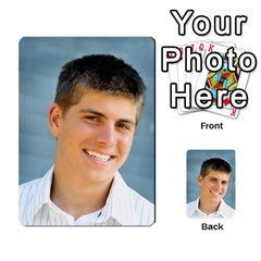 Senior Graduation Wallet Photos By Mary Landwehr   Multi Purpose Cards (rectangle)   Iy3lm9ckklwt   Www Artscow Com Back 4
