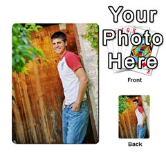Senior Graduation Wallet Photos By Mary Landwehr   Multi Purpose Cards (rectangle)   Iy3lm9ckklwt   Www Artscow Com Back 38