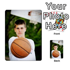 Senior Graduation Wallet Photos By Mary Landwehr   Multi Purpose Cards (rectangle)   Iy3lm9ckklwt   Www Artscow Com Back 40
