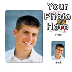 Senior Graduation Wallet Photos By Mary Landwehr   Multi Purpose Cards (rectangle)   Iy3lm9ckklwt   Www Artscow Com Back 43