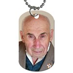 grandpa - Dog Tag (One Side)