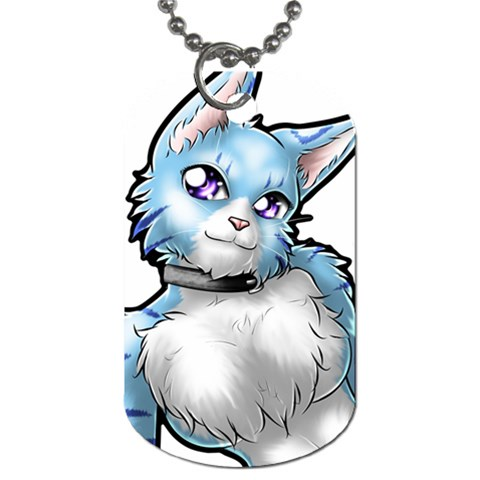 Skie By Akumasephitaro   Dog Tag (one Side)   46uysgivvwq6   Www Artscow Com Front