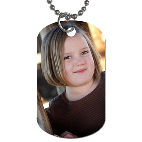 Cutest Site By Wesley   Dog Tag (one Side)   5gn3afxc40gd   Www Artscow Com Front