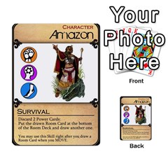 Dod 1 Parte By Jamonton   Multi Purpose Cards (rectangle)   9uowkjkdy0vx   Www Artscow Com Front 22