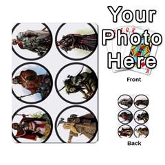 Dod 2 Parte By Jamonton   Multi Purpose Cards (rectangle)   W2p3pptvs9se   Www Artscow Com Front 40