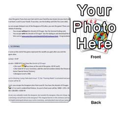 Dod 2 Parte By Jamonton   Multi Purpose Cards (rectangle)   W2p3pptvs9se   Www Artscow Com Back 43
