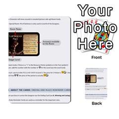 Dod 2 Parte By Jamonton   Multi Purpose Cards (rectangle)   W2p3pptvs9se   Www Artscow Com Back 49