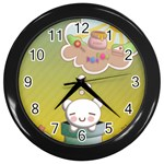 Think Sweet - Wall Clock (Black)