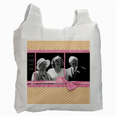 Wedding By Catvinnat   Recycle Bag (two Side)   Pug4ankoeygl   Www Artscow Com Front