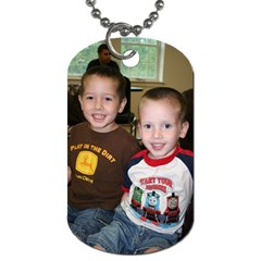 Dog Tag By Artscow By Jamie Frye   Dog Tag (two Sides)   Wfd4bifhslu8   Www Artscow Com Front