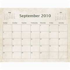 Mum s Calendar By Christine   Wall Calendar 11  X 8 5  (18 Months)   Il8zm74pzy5e   Www Artscow Com Sep 2010