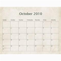 Mum s Calendar By Christine   Wall Calendar 11  X 8 5  (18 Months)   Il8zm74pzy5e   Www Artscow Com Oct 2010