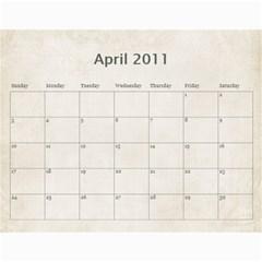Mum s Calendar By Christine   Wall Calendar 11  X 8 5  (18 Months)   Il8zm74pzy5e   Www Artscow Com Apr 2011