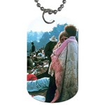 Woodstock Couple - Dog Tag (Two Sides)