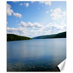 Hemlock Lake - Canvas 8  x 10