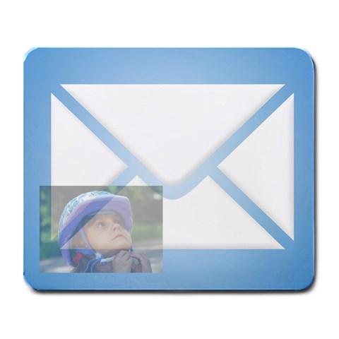 Mail Mousepad By Wood Johnson   Large Mousepad   1qm4qfjvqt92   Www Artscow Com Front