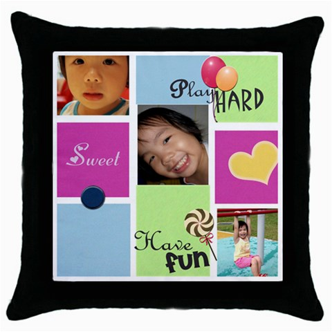 By Valerie Creation   Throw Pillow Case (black)   Bo3l26r3ch7b   Www Artscow Com Front