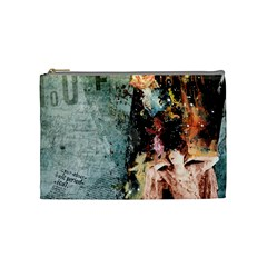 By Jessica   Cosmetic Bag (medium)   Z0p0n36xlzk8   Www Artscow Com Front