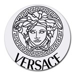 Versace mouse pad - Round Mousepad