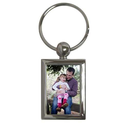 Claire/ryan #45 By Alana   Key Chain (rectangle)   9lt5x79j7roa   Www Artscow Com Front