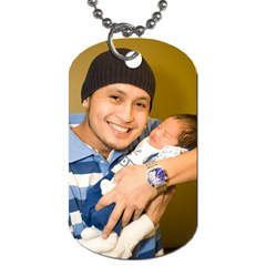 Daddy s Dog Tag By J   Dog Tag (two Sides)   54cgs3cqgfs3   Www Artscow Com Front