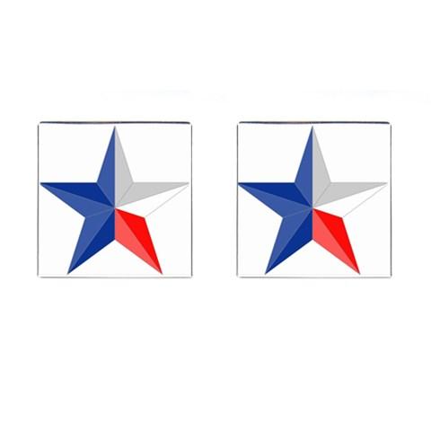 Texas Star By Sarah Fulghum   Cufflinks (square)   Ioubwhlvvvmw   Www Artscow Com Front