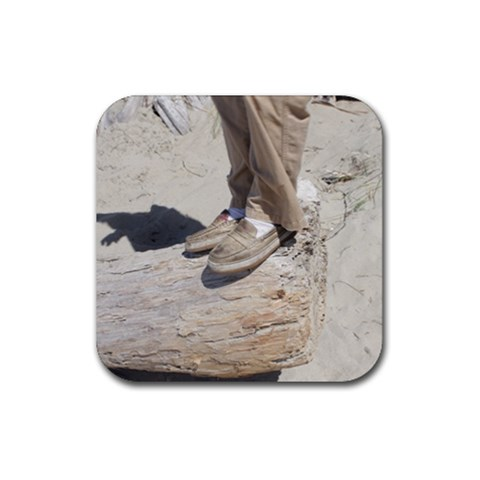 Kurt s Feet   A Coaster By Amyjo   Rubber Coaster (square)   Pg5guvjaidpb   Www Artscow Com Front