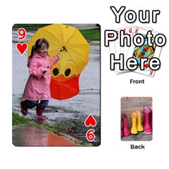 Rainyday Playing Cards By Lily Hamilton   Playing Cards 54 Designs   Ac1wyo1wzr1r   Www Artscow Com Front - Heart9