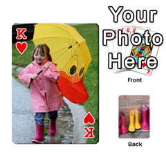 King Rainyday Playing Cards By Lily Hamilton   Playing Cards 54 Designs   Ac1wyo1wzr1r   Www Artscow Com Front - HeartK