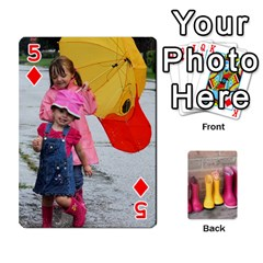 Rainyday Playing Cards By Lily Hamilton   Playing Cards 54 Designs   Ac1wyo1wzr1r   Www Artscow Com Front - Diamond5