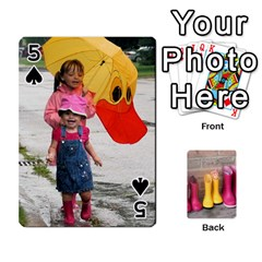 Rainyday Playing Cards By Lily Hamilton   Playing Cards 54 Designs   Ac1wyo1wzr1r   Www Artscow Com Front - Spade5