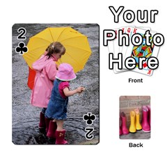 Rainyday Playing Cards By Lily Hamilton   Playing Cards 54 Designs   Ac1wyo1wzr1r   Www Artscow Com Front - Club2