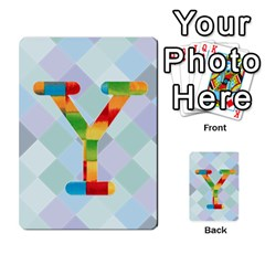 Abc Flash Cards By Crystal Rawl   Multi Purpose Cards (rectangle)   Eq132vxdo4je   Www Artscow Com Front 51