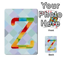 Abc Flash Cards By Crystal Rawl   Multi Purpose Cards (rectangle)   Eq132vxdo4je   Www Artscow Com Front 52