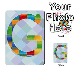Abc Flash Cards By Crystal Rawl   Multi Purpose Cards (rectangle)   Eq132vxdo4je   Www Artscow Com Front 7